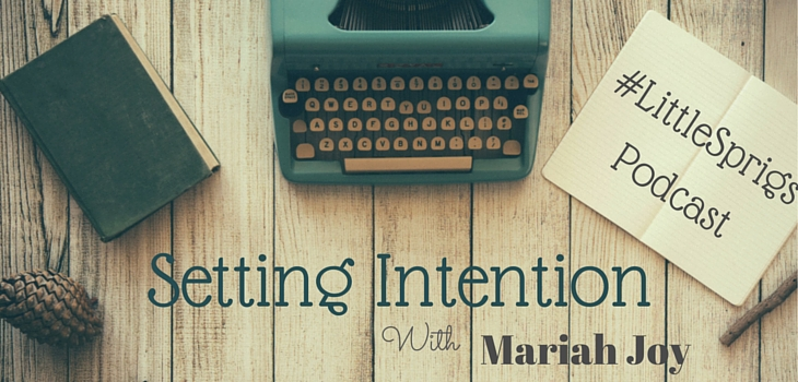 setting-intention
